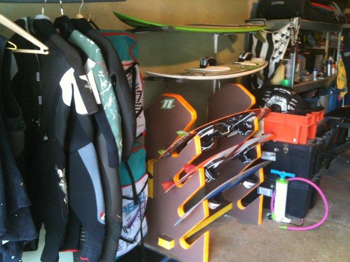 Des id es pour un rack boards king size forum flysurf for Forum flysurf