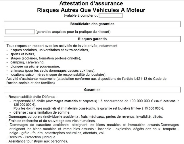 2 Info Assurance Kite Par Maif Forum Flysurf