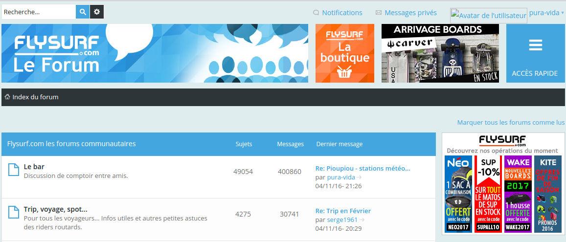 Probl me avec mon avatar forum flysurf for Forum flysurf